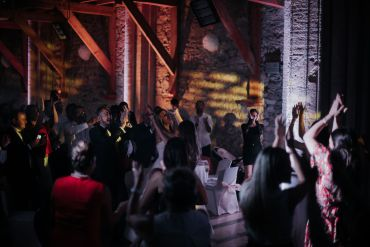 Photo mariage grenoble - dancefloor -chapelle de la grande fabrique