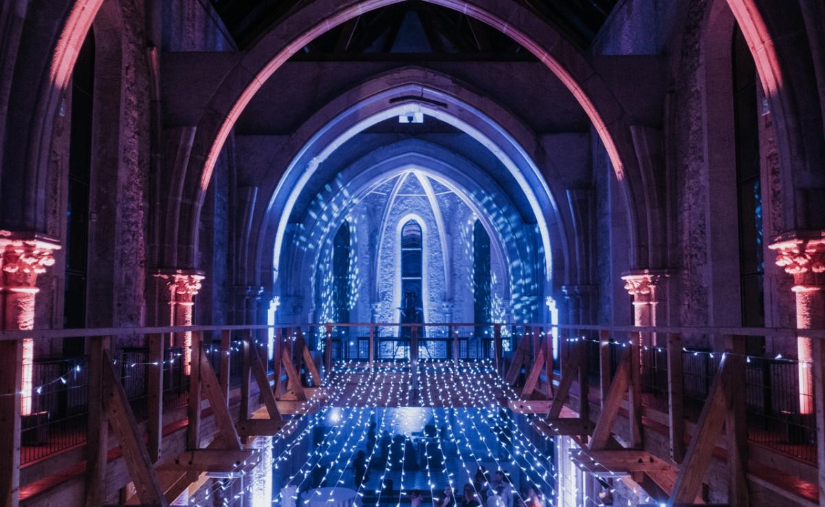 Mariage Chapelle de La Grande Fabrique - Mise en Lumière