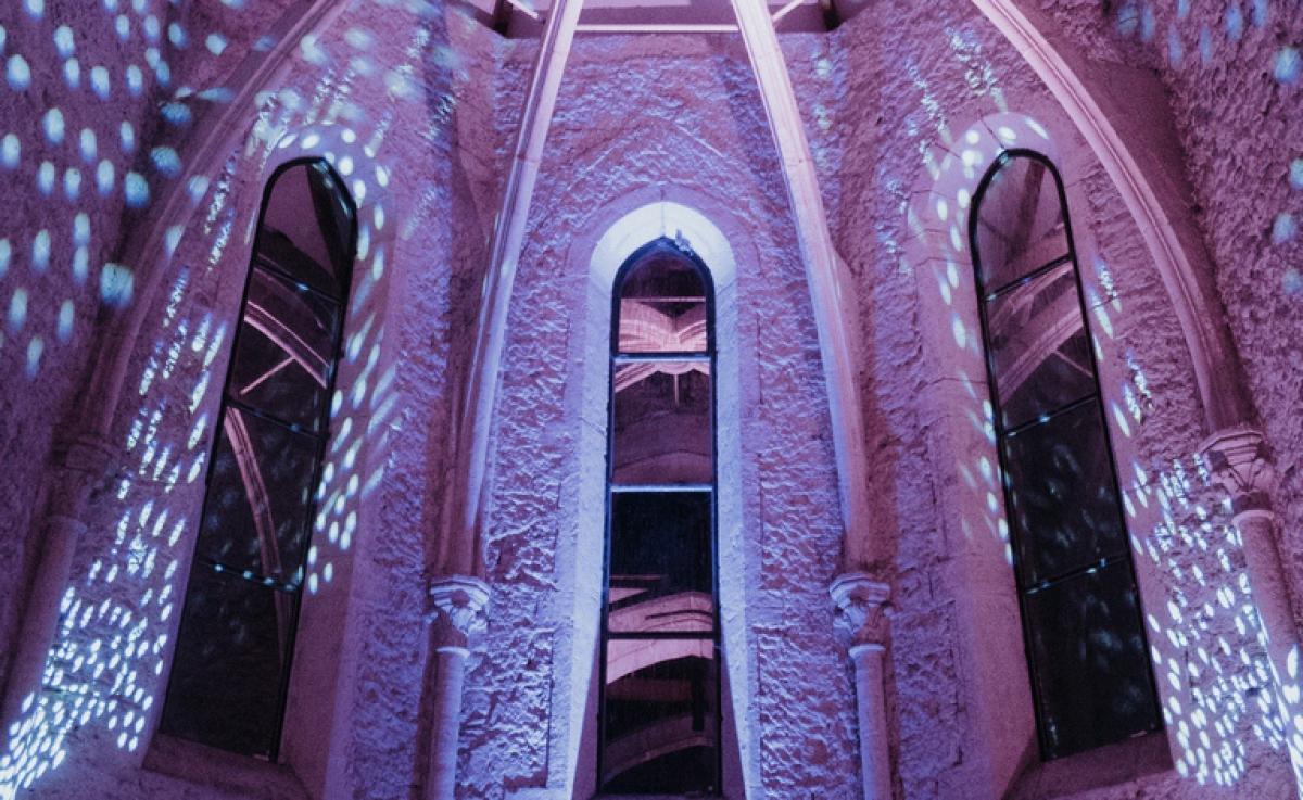 Mariage Chapelle de La Grande Fabrique - Mise en lumière du choeur