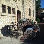 Mariage Bastide de Jaillans - Triporteur des mariés