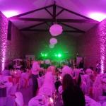 Mariage Salle de Réception - Ambiance Fushia