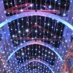 Mariage - Chapelle de La Grande Fabrique - Renage -Plafond de Led