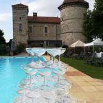 Mariage - Château Chapeau Cornu - Vignieu -Fontaine de Champagne